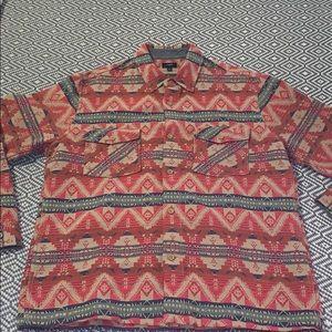 J. Crew Men's Aztec Work Shirt - NWOT